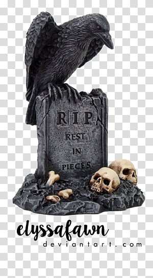 Raven Grey Rip Rest In Peace Tombstone Art Transparent Background Png Clipart Peace Illustration Rest In Peace Tattoos Free Stencils Printables