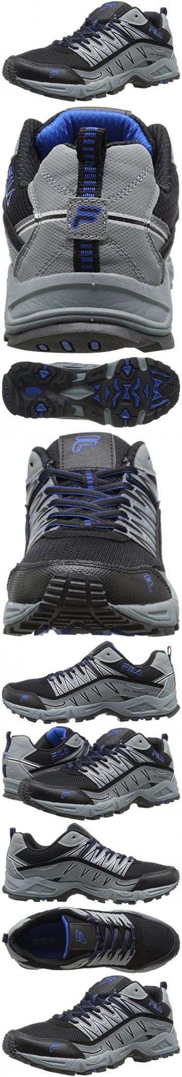 Fila Men's Maranello Running Shoe, Metallic Silver/Blue/Andean Toucan, ...