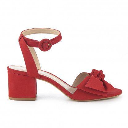 Sandalias tacón de Sandalia tacón piel FOSCO para Mujer Merkal Calzados.  Compra ya calzado para 53aae8985fec9