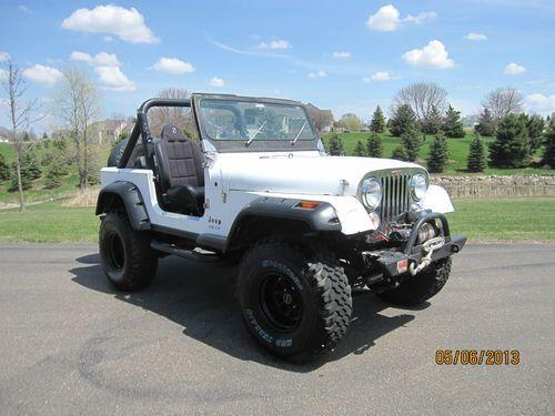 Jeep Cj 7 Built Amc 401 V8 On Or Off Road 4x4 Cj7 Image 1 Jeep Cj Jeep Jeep Cj7