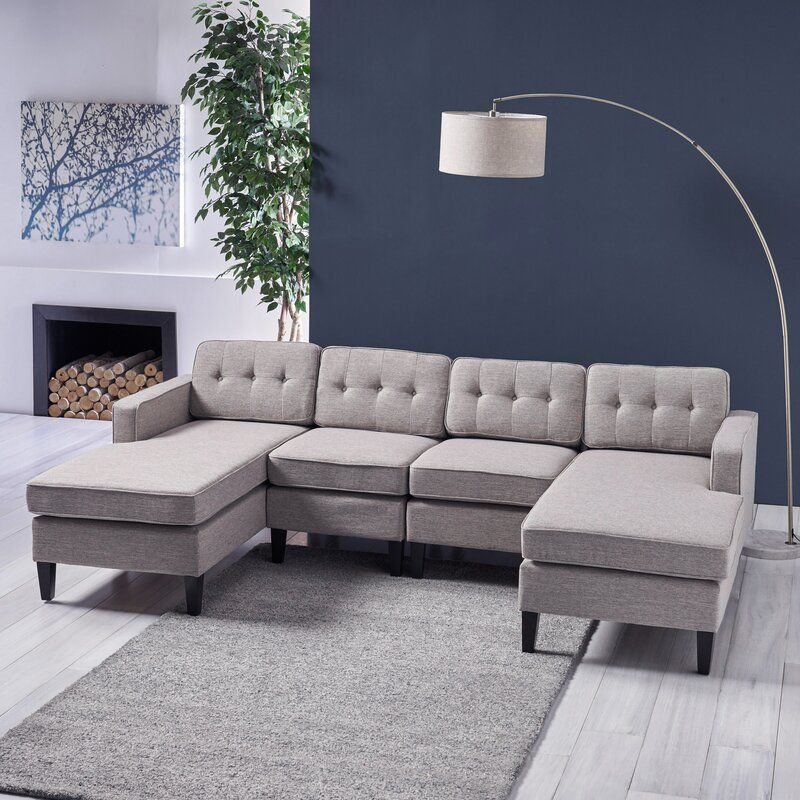 Isobel Symmetrical Sectional In 2020 Cheap Sofas Cheap Couch