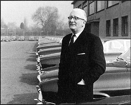 William Lyons Founder Of Jaguar Automotive Pioneers