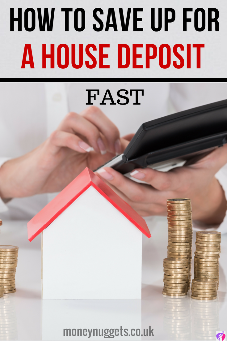 How To Save For A Deposit And Get On The Housing Ladder Fast Save For House Money Saving Tips Save Money On Groceries
