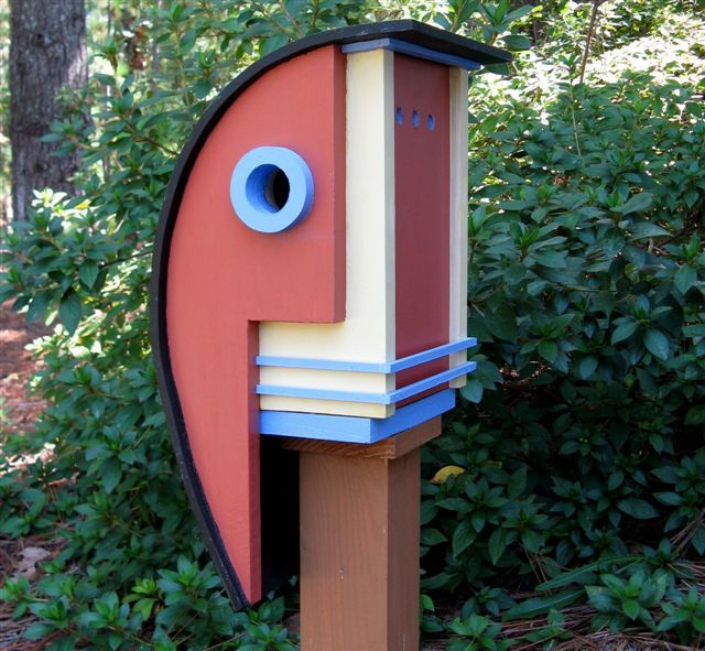 12 Cool Architectural Birdhouses Unique Bird Houses Wooden Bird