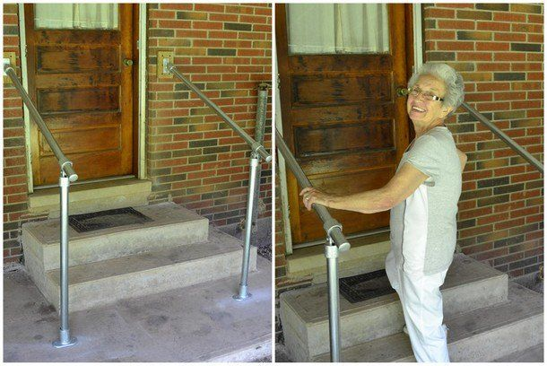 Metal Stair Railing for Accessibility | ideals | Pinterest | Metal ...