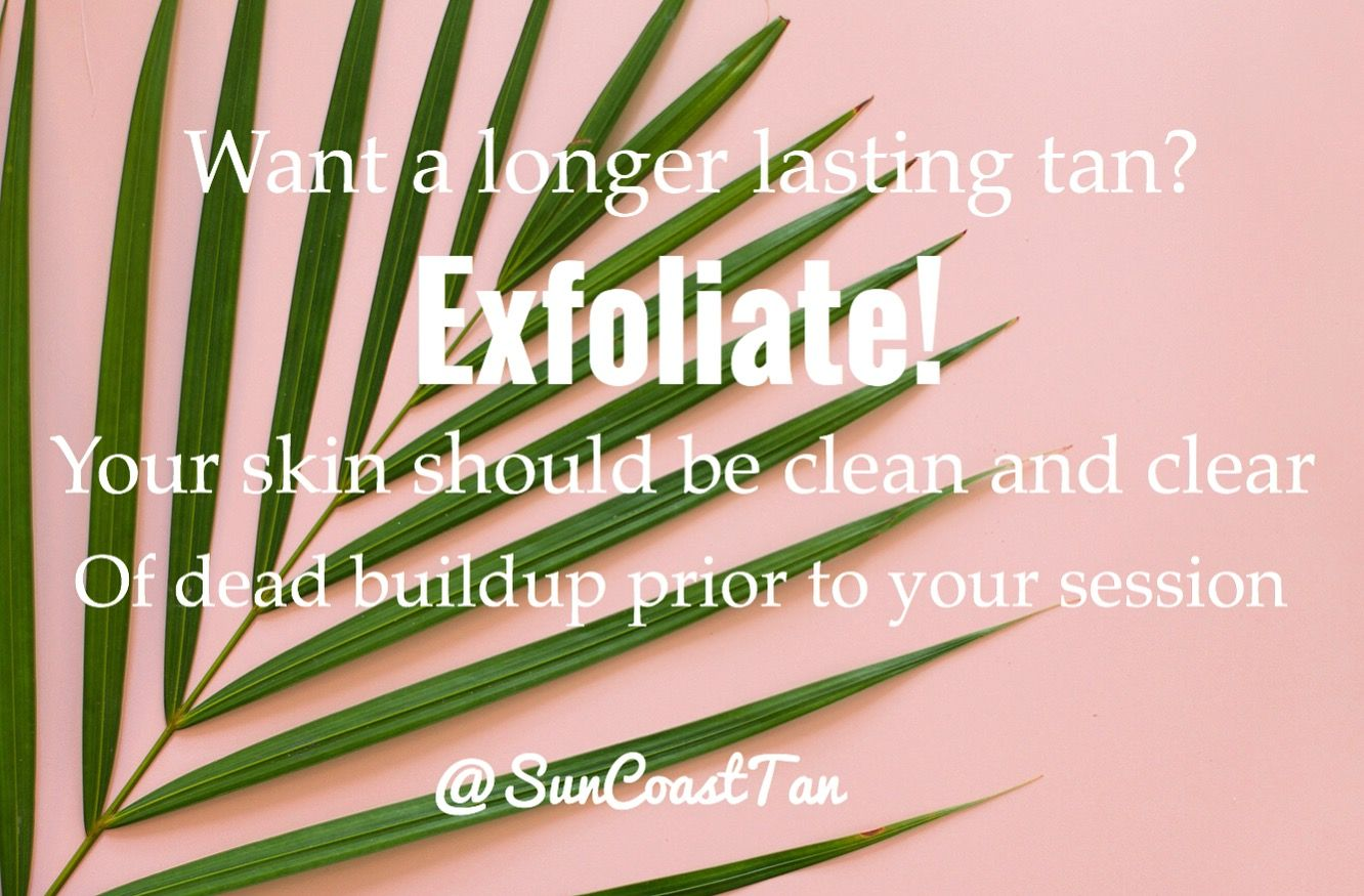 Preparing for a spray tan. How to exfoliate. Spray