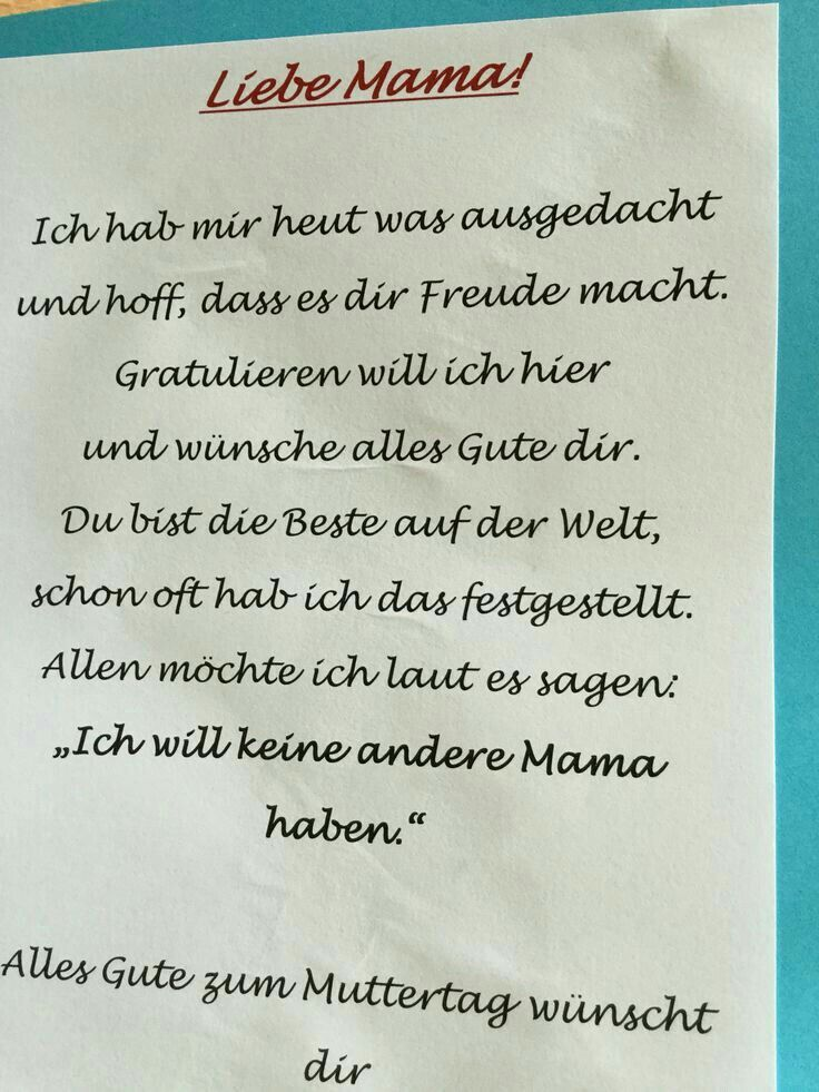 Mutter Muttertag Spruche Muttertag Gedicht Muttertag