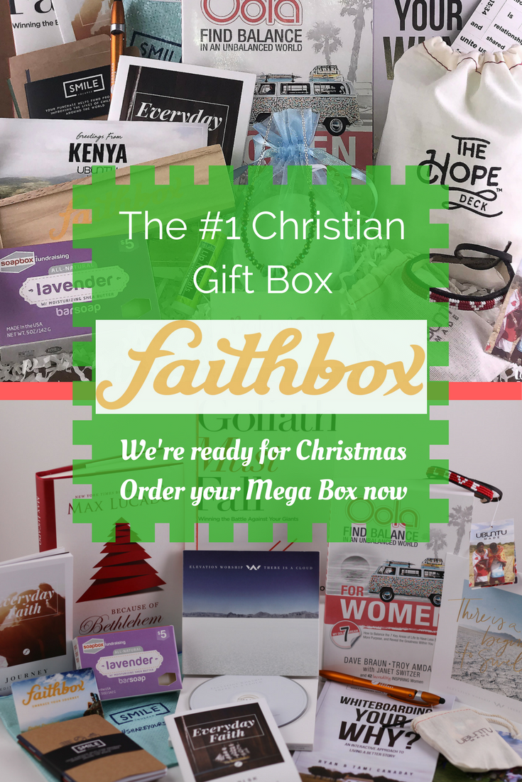 SAVE 50% OFF. The ultimate CHRISTMAS CHRISTIAN GIFT BOX for you and all your 1721cb88739