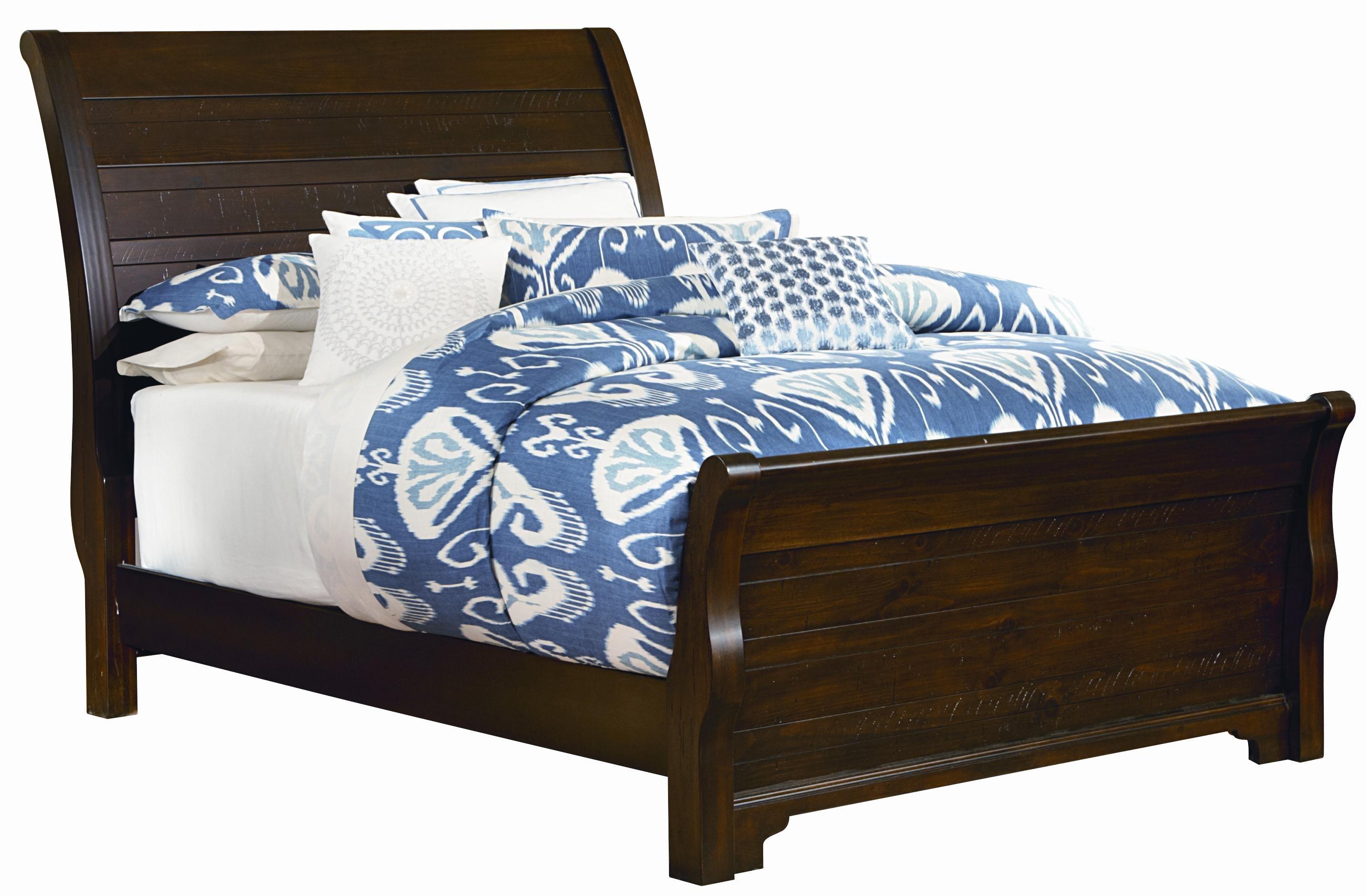 Hanover King Sleigh Bed By Vaughan Bassett Dormitorios Muebles