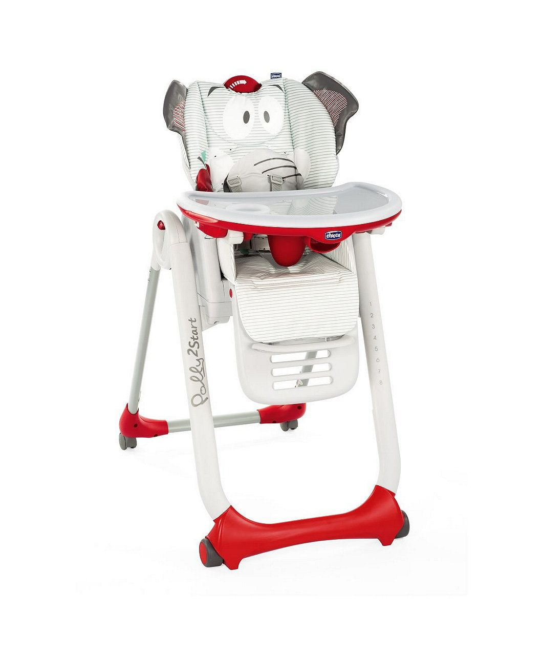 Chicco Polly2start Highchair Baby Elephant Grey In 2020 Baby Elephant High Chair Chair