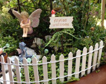 2 X 18 Long Fairy Garden Miniature Natural Wood By Kristina168