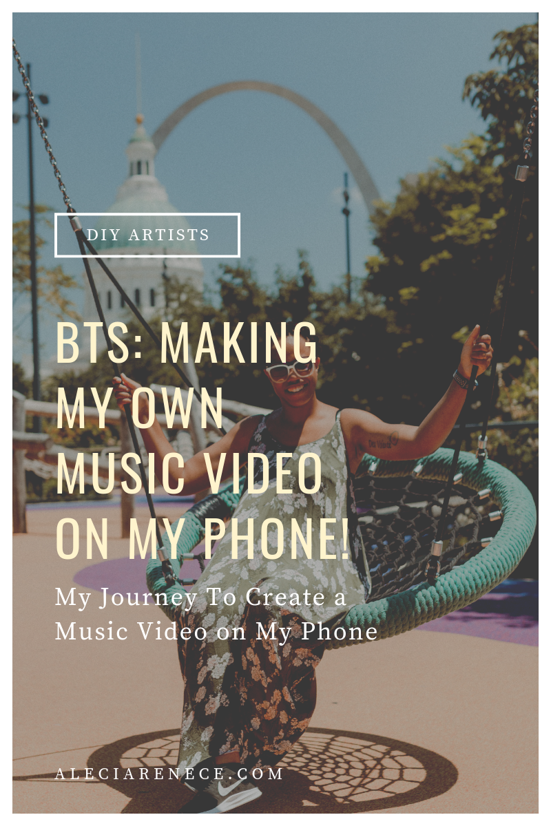 Behind The Scene How To Make A Music Video W Your Phone Easy Bill Withers Lovely Day Alecia Renece The Artist Music Videos Bill Withers Lovely Day Music