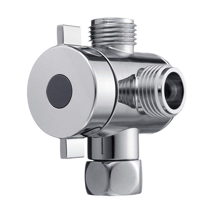 Us New Bathroom G1 2 Shower Head Diverter Valve Tap 3 Way M F