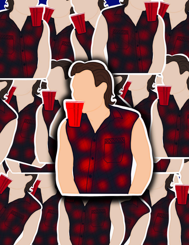 Morgan Wallen Faceless Sticker Artist Sticker Mw Sticker Etsy In 2020 Faceless Portrait Famous Country Singers Iphone Background Wallpaper