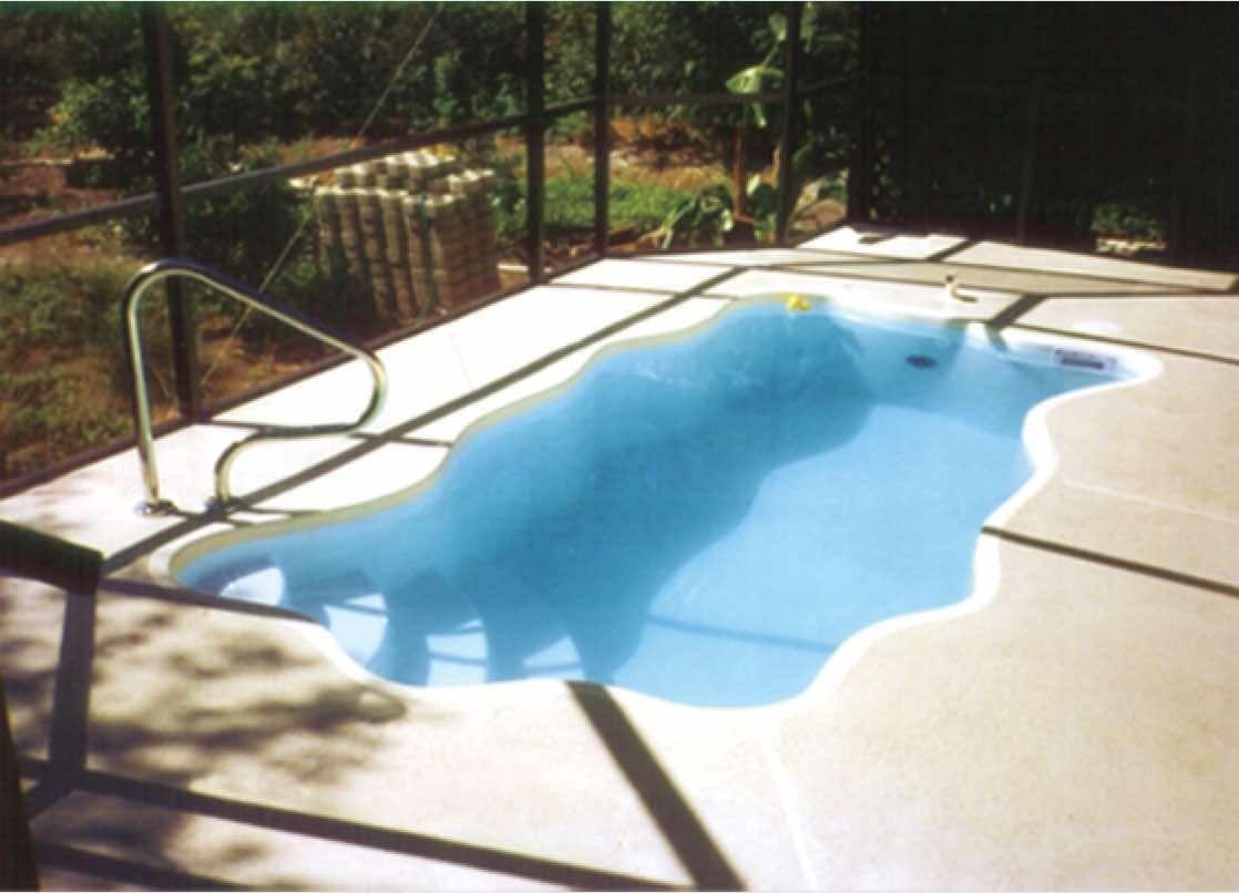 Aruba Small Fiberglass Pool Small fiberglass pools