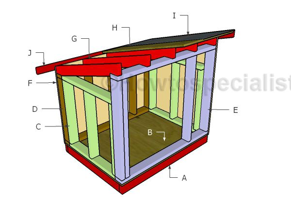 Extra Large Dog House Plans Free Diy Plans Fur Babies Large