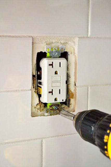 How to Extend an Outlet After Tiling | Kitchen | Kitchen ... Installing Kitchen Outlets on setting up kitchen, painting kitchen, updating kitchen,