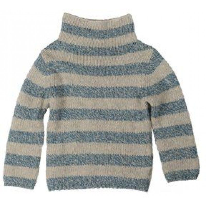 Kidscase Heavy Knit Striped Turtle Neck Sweater. On sale!