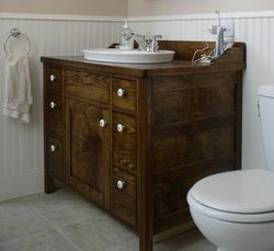 Vintage Style Washstand Bathroom Vanity Woodworking