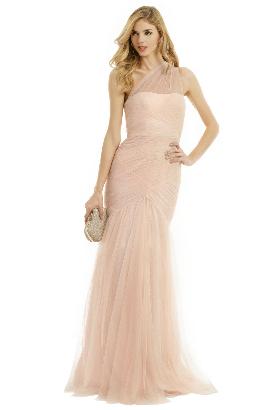Get fairytale beauty in this gown by ML Monique Lhuillier. You ...