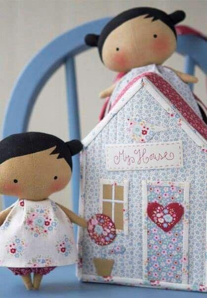 Pin von Cristina Vicentini auf Tildas | Pinterest | Puppen, Nähen ...