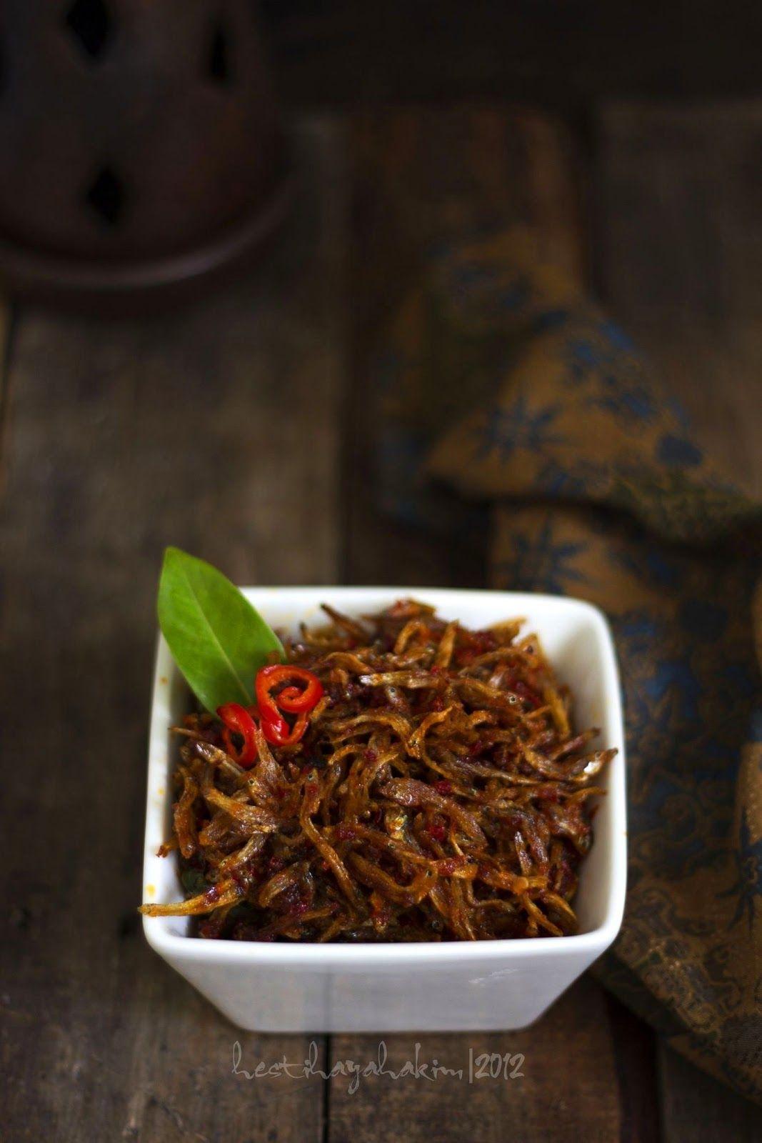 Hesti S Kitchen Yummy For Your Tummy Sambal Goreng Teri Makanan Pedas Resep Masakan Makanan Dan Minuman