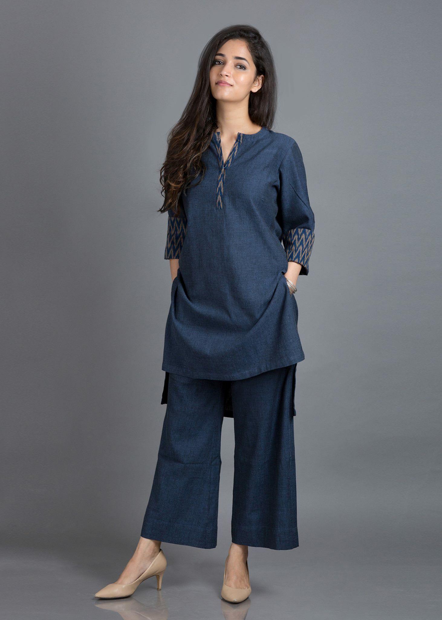 Sweet And Cute  Kurta Style, Kurta Designs Women, Cotton -5708