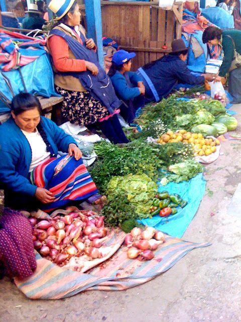 Alessandra Zecchini: Food market in Cusco (Mercado de Wanchaq), Peru  #studyabroad #ustabroad