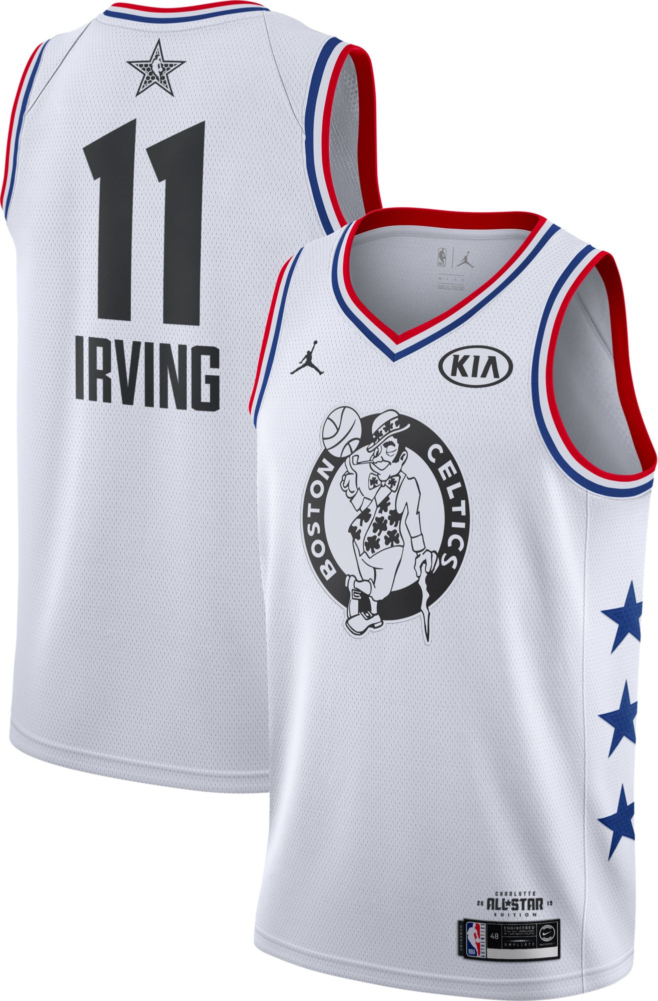 new arrival 2467b 48610 Jordan Men's 2019 NBA All-Star Game Kyrie Irving White Dri ...