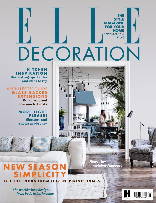 5sdcsdc With Images Decor Magazine Elle Decor Elle Decor Uk