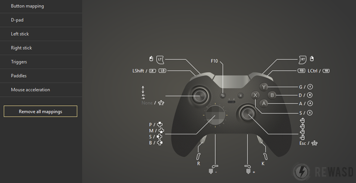 How To Map Xbox One Controller To Keyboard