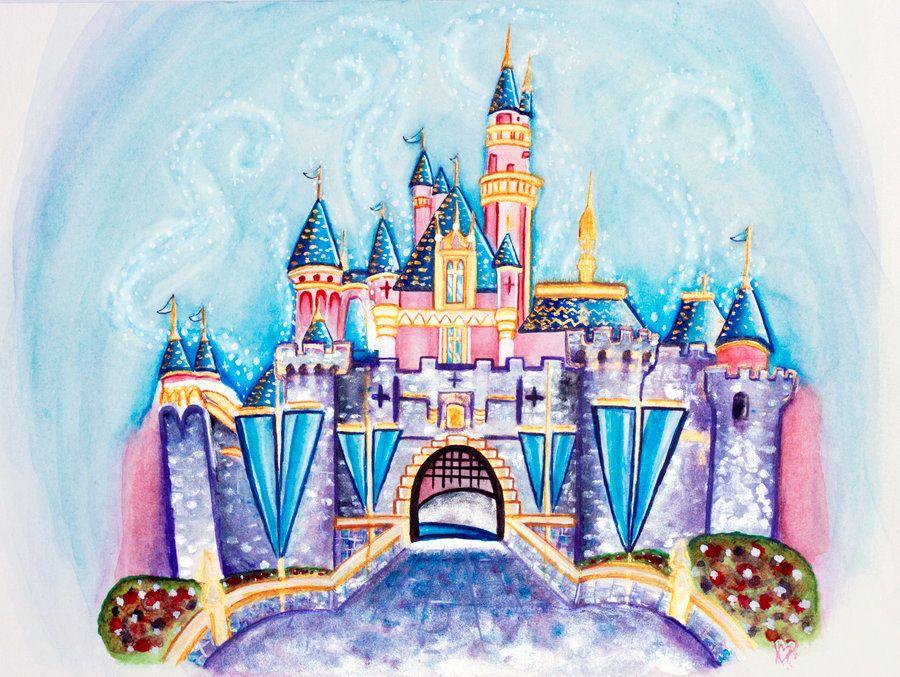 Disneyland Castle by ItsEmmVee on DeviantArt | Disney ...