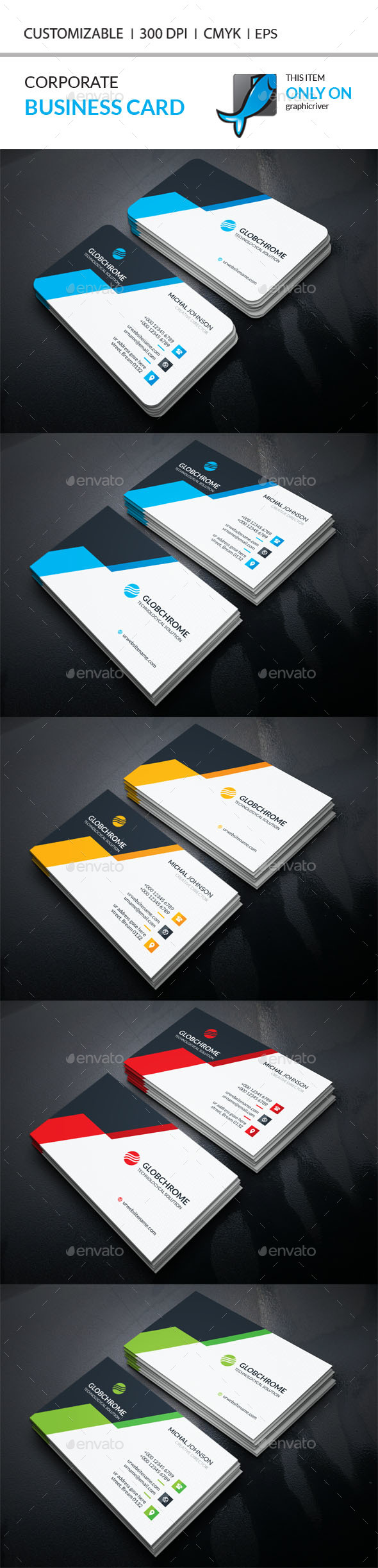 Corporate business card template vector eps ai illustrator corporate business card template vector eps ai illustrator download here http reheart Images