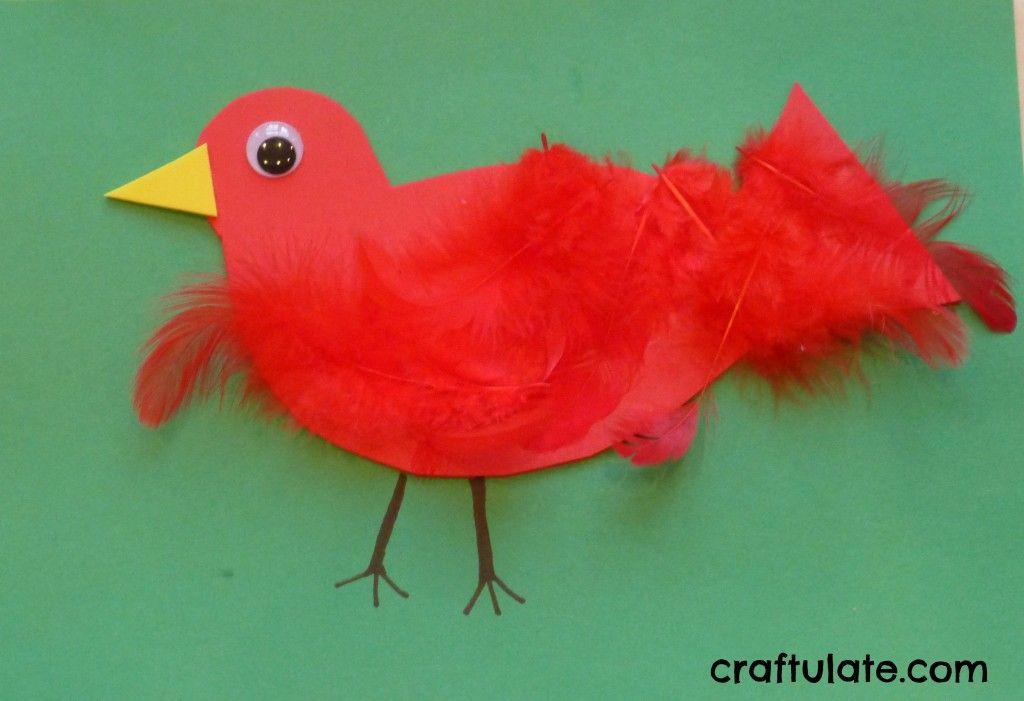 Feathered Bird Craft