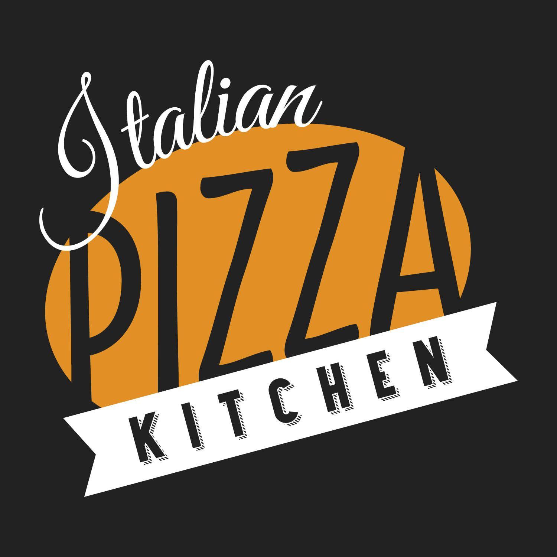italian pizza kitchen logo design by