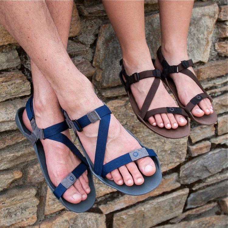 Xero Shoes Amuri Z Trek Mocha Earth Coffee Bean Sandals