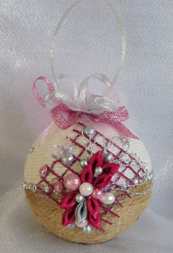 Bombka Sznurkowa Allegro Diy Christmas Ornaments Christmas Crafts Twine Crafts