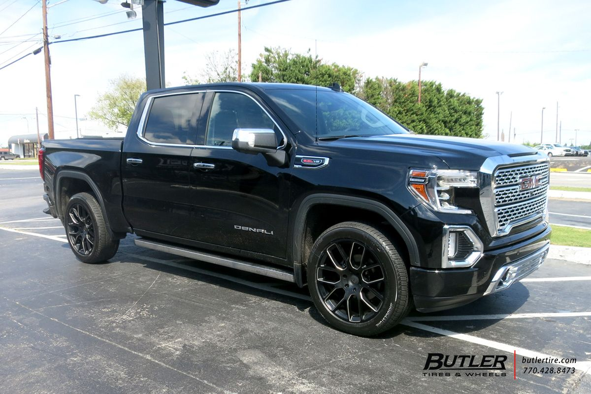 2019 Gmc Sierra Denali With 22in Black Rhino Kunene Wheels Gmc
