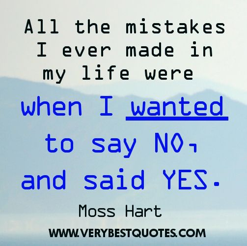 Quotes About Life Lessons And Mistakes | kartcell.com ...