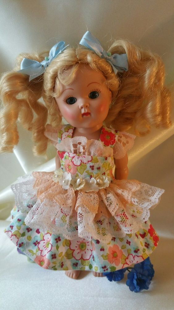 Country style dress only fits Ginny Madam Alexander Wendy Muffie Pam Ginger