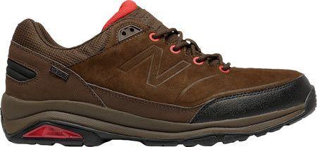 Men's New Balance M1300v1 Hiking Shoe - Brown/Red Walking Shoes