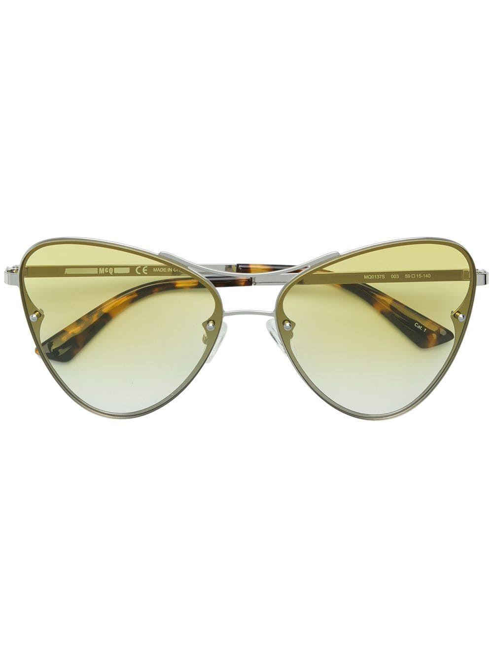 McQ Alexander McQueen Oversized Gradient Sunglasses – Farfetch