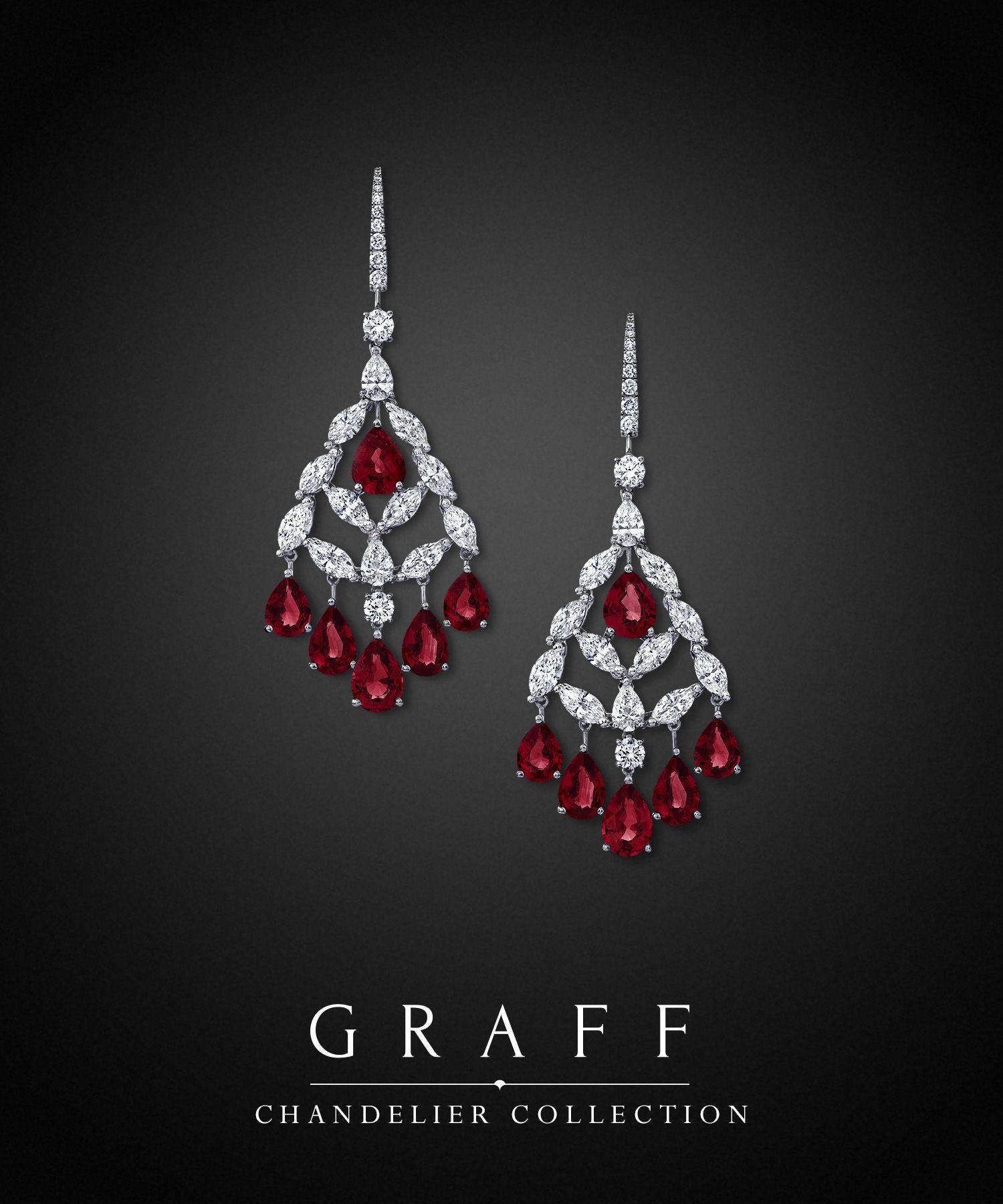 Ruby and diamond chandelier earrings chandelier collection from ruby and diamond chandelier earrings chandelier collection from graff diamonds arubaitofo Choice Image