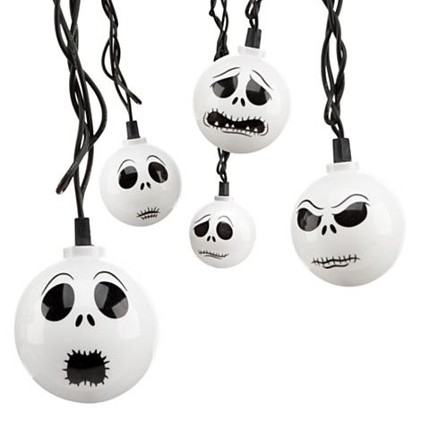Disney Nightmare Before Christmas Light-up Necklace Jack faces NEW