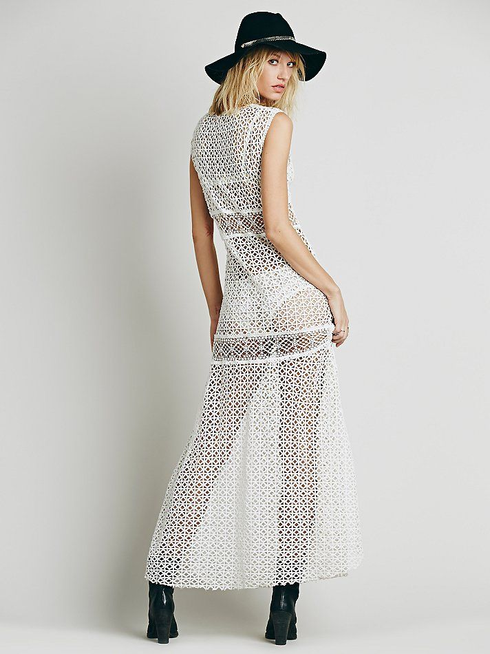 Free People Annina Crochet Dress at Free People Clothing Boutique