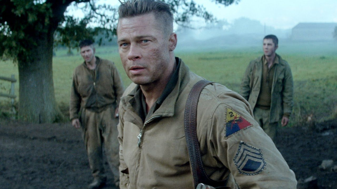 Fury Trailer Official Brad Pitt Shia LaBeouf Music Videos And - New official trailer fury starring brad pitt