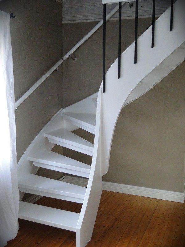 vit trappa,trappa,svartvitt | Trappa | Pinterest