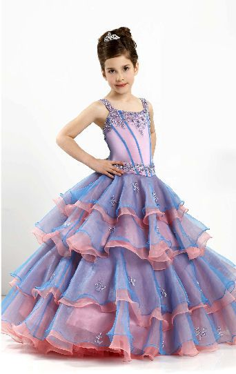 Girls Birthday Party Dress - Ocodea.com