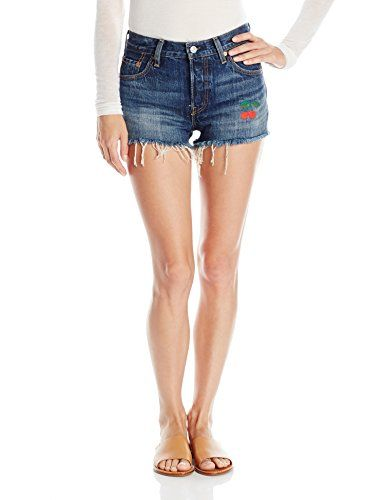 79a4501f Women's Denim Shorts - Levis Womens 501 Short *** Check this awesome product  by going to the link at the image.