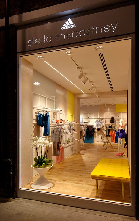 The First Retail Store From Adidas By Stella Mccartney Stella Mccartney Adidas Adidas Store Retail Design
